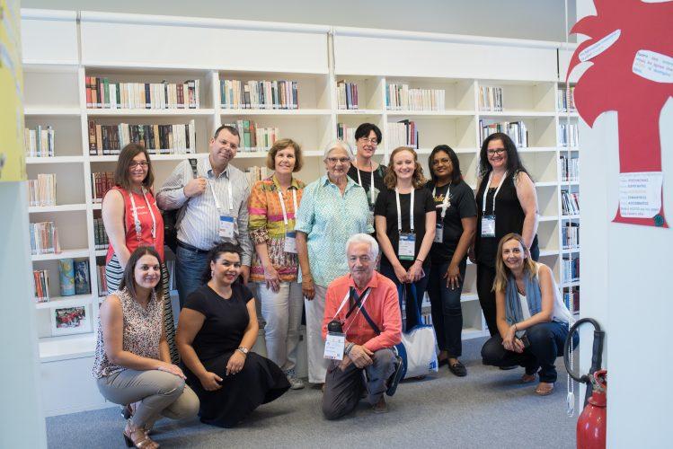 WLIC 2019, visiting library