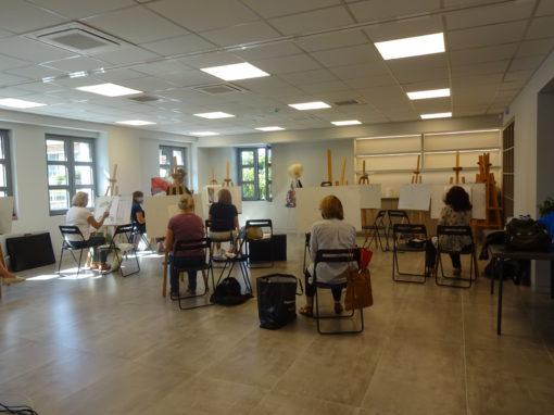 Έναρξη μαθημάτων εργαστηρίων Ζωγραφικής και Κεραμικής