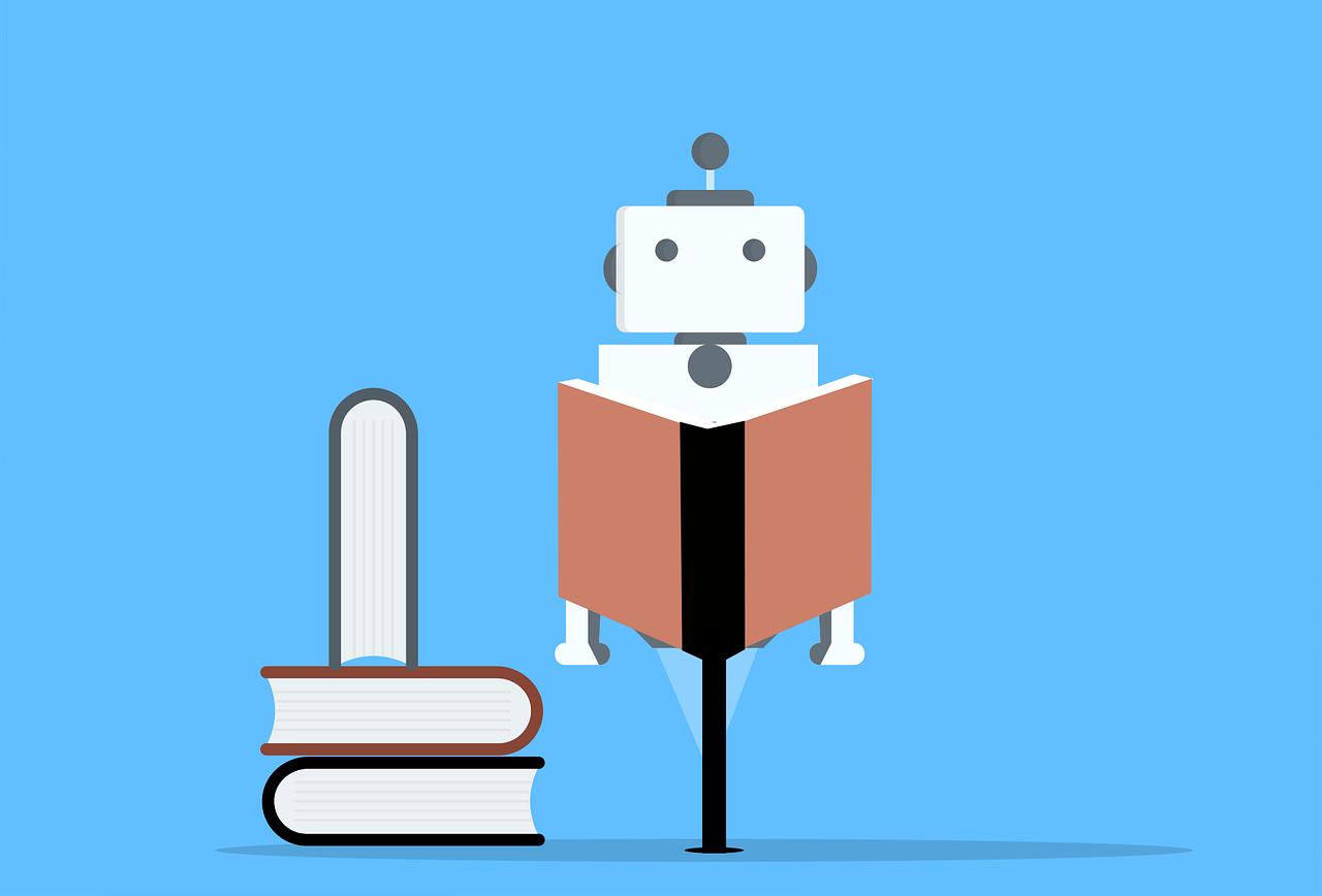 Ρομπότ στη Βιβλιοθήκη!